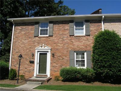 Brookhaven Condo/Townhouse For Sale: 1658 Executive Park Lane NE