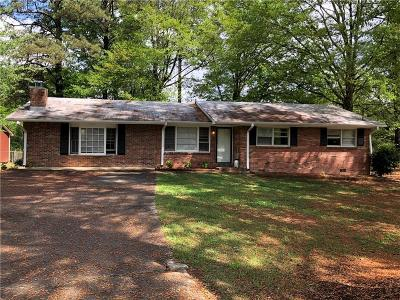 Morrow Single Family Home For Sale: 1227 Dove Court