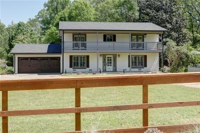 Atlanta Single Family Home For Sale: 3873 Chamblee Dunwoody Road