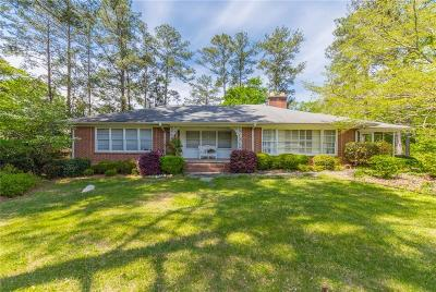 Single Family Home For Sale: 427 W Bankhead Highway