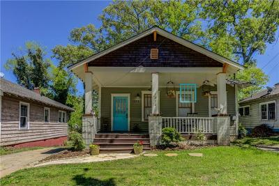 Atlanta Single Family Home For Sale: 1372 Sylvan Road SW