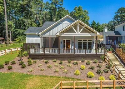 Cobb County Single Family Home For Sale: 3795 Lower Roswell Road