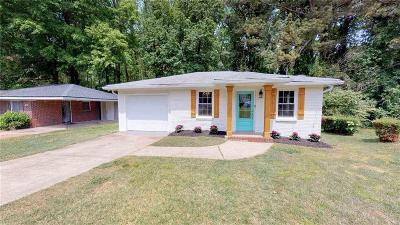 Atlanta Single Family Home For Sale: 2571 Loghaven Drive NW