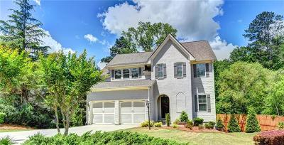 Suwanee Single Family Home For Sale: 3205 Camellia Lane