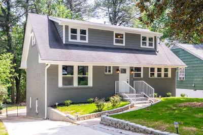 Atlanta Single Family Home For Sale: 632 Kennolia Drive SW