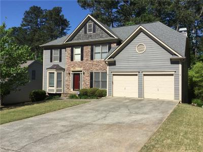 Suwanee Single Family Home For Sale: 3720 Old Suwanee Road