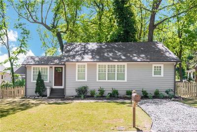 Atlanta Single Family Home For Sale: 2871 Tupelo Street SE