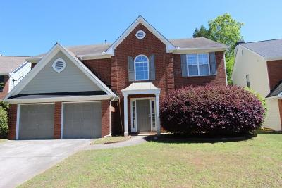 Roswell Single Family Home For Sale: 11065 Crabapple Lake Drive