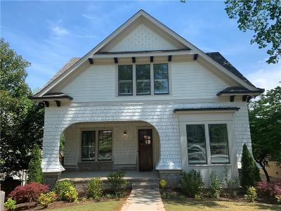 Decatur Single Family Home For Sale: 248 Madison Avenue