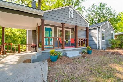 Atlanta Single Family Home For Sale: 883 Fayetteville Road SE