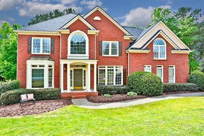 Alpharetta GA Single Family Home For Sale: $619,000