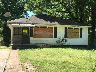 Atlanta Single Family Home For Sale: 1078 Birch Street SW