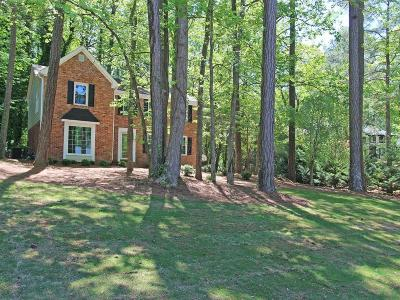 Marietta Single Family Home For Sale: 1017 Hidden Hollow Drive