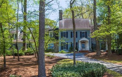 Sandy Springs Single Family Home For Sale: 1710 Marlborough Drive