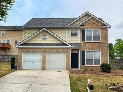 Woodstock Single Family Home For Sale: 407 Park Creek Trace
