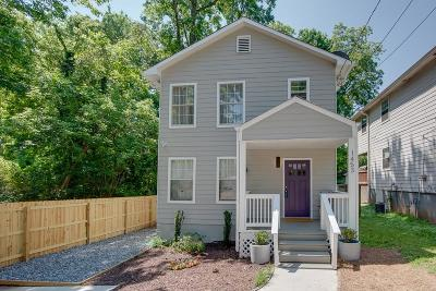 Atlanta Single Family Home For Sale: 1453 Chipley Street NE