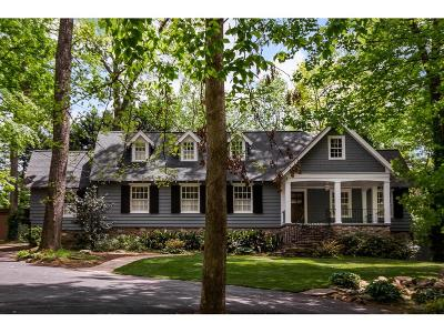 Atlanta Single Family Home For Sale: 3953 Ivy Road NE