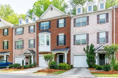 Sandy Springs Condo/Townhouse For Sale: 614 Pember Point