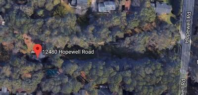 Alpharetta Single Family Home For Sale: 12480 Hopewell Road