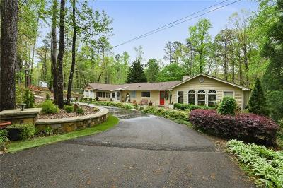 Lumpkin County Single Family Home For Sale: 245 Shore Drive