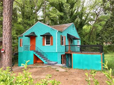 Atlanta Single Family Home For Sale: 1639 Orlando Street SW