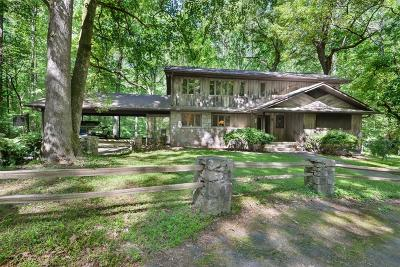Marietta Single Family Home For Sale: 151 Hardage Drive
