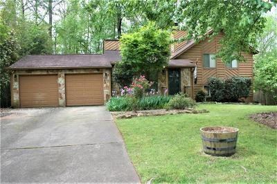 Marietta Single Family Home For Sale: 1616 Rex Drive