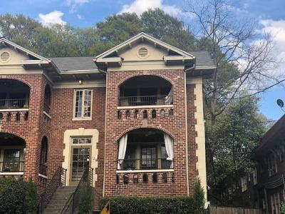 Virginia Highland Condo/Townhouse For Sale: 795 Ponce De Leon Place #A3
