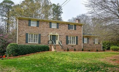 Atlanta Single Family Home For Sale: 6550 Wright Road