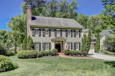 Atlanta Single Family Home For Sale: 3128 Wood Valley Road NW