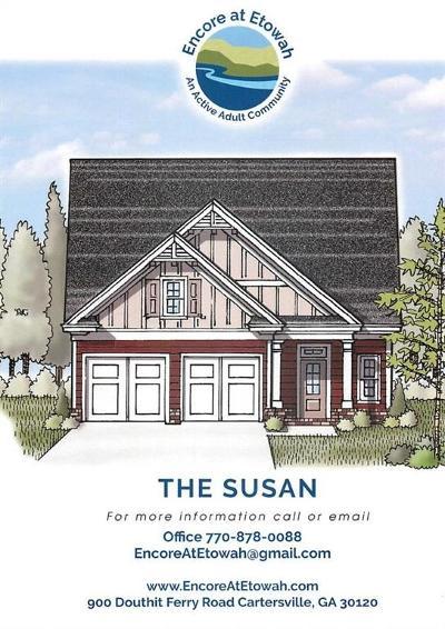 Cartersville Single Family Home For Sale: 8 Encore Lane