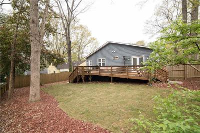 Decatur Single Family Home For Sale: 1390 Oldfield Road