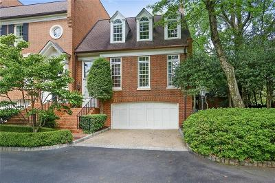 Atlanta Condo/Townhouse For Sale: 2601 Peachtree Road NE