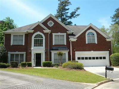 Brookhaven Single Family Home For Sale: 3315 Windsor Lake Drive NE