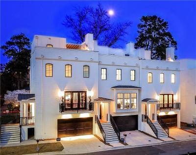 Atlanta Condo/Townhouse For Sale: 3667 Peachtree Road NE #6