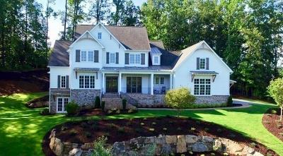 Milton Single Family Home For Sale: Crooked Stick Drive