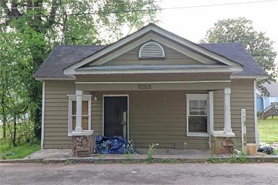Atlanta Single Family Home For Sale: 1479 Crogman Street