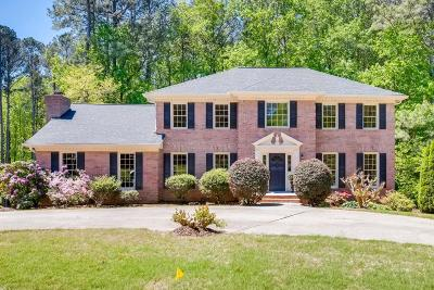 Peachtree Corners Single Family Home For Sale: 5820 Clinchfield Trail