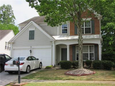 Kennesaw Single Family Home For Sale: 3308 Hampreston Way NW