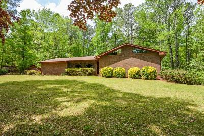 Powder Springs Single Family Home For Sale: 3922 Finch Road SW