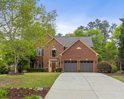Roswell Single Family Home For Sale: 8080 Magnolia Court