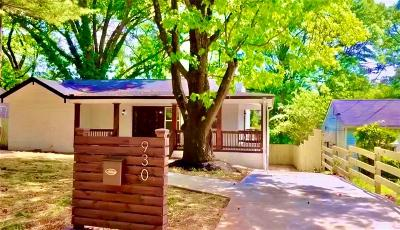 Atlanta Single Family Home For Sale: 930 Astor Avenue SW