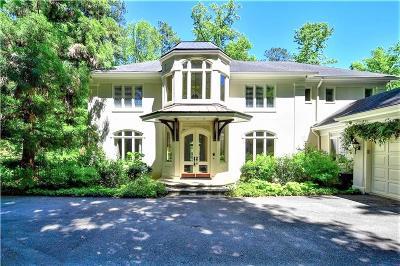 Atlanta GA Single Family Home For Sale: $1,680,000