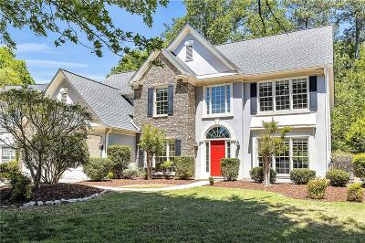 Sandy Springs Single Family Home For Sale: 145 Smithdun Lane