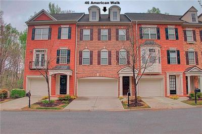 Fayette County Condo/Townhouse For Sale: 46 American Walk