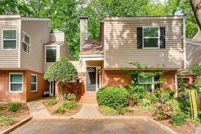 Atlanta Condo/Townhouse For Sale: 53 Dunwoody Springs Drive #53B
