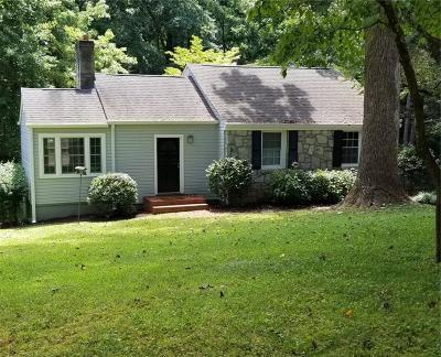 Decatur Single Family Home For Sale: 1208 Thomas Road