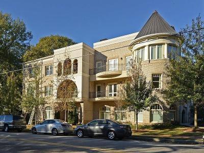 Atlanta GA Condo/Townhouse For Sale: $547,000