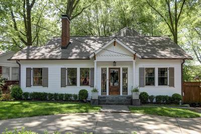Atlanta Single Family Home For Sale: 109 Peachtree Hills Avenue NE