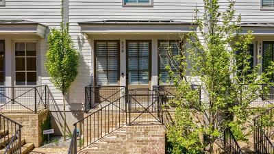 Atlanta Condo/Townhouse For Sale: 538 Bismark Road #48